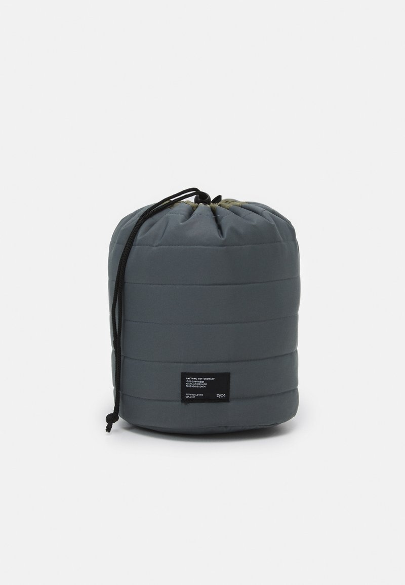 TYPO - UTILITY CARRY ALL CASE UNISEX - Kosmetická taška - welsh slate/khaki