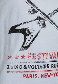 Zadig & Voltaire - SHORT SLEEVES  - Print T-shirt - pale blue - 2