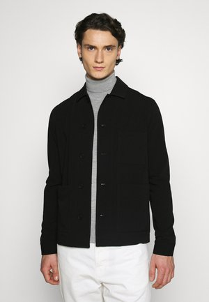 WORKER JACKET - Lehká bunda - black