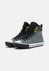 Converse - CHUCK TAYLOR ALL STAR UNISEX - High-top trainers - limestone grey/black/white - 1
