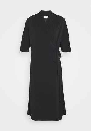 IVESIA - Jersey dress - black