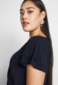Lauren Ralph Lauren Woman - MID WEIGHT DRESS - Jersey dress - dark blue - 3