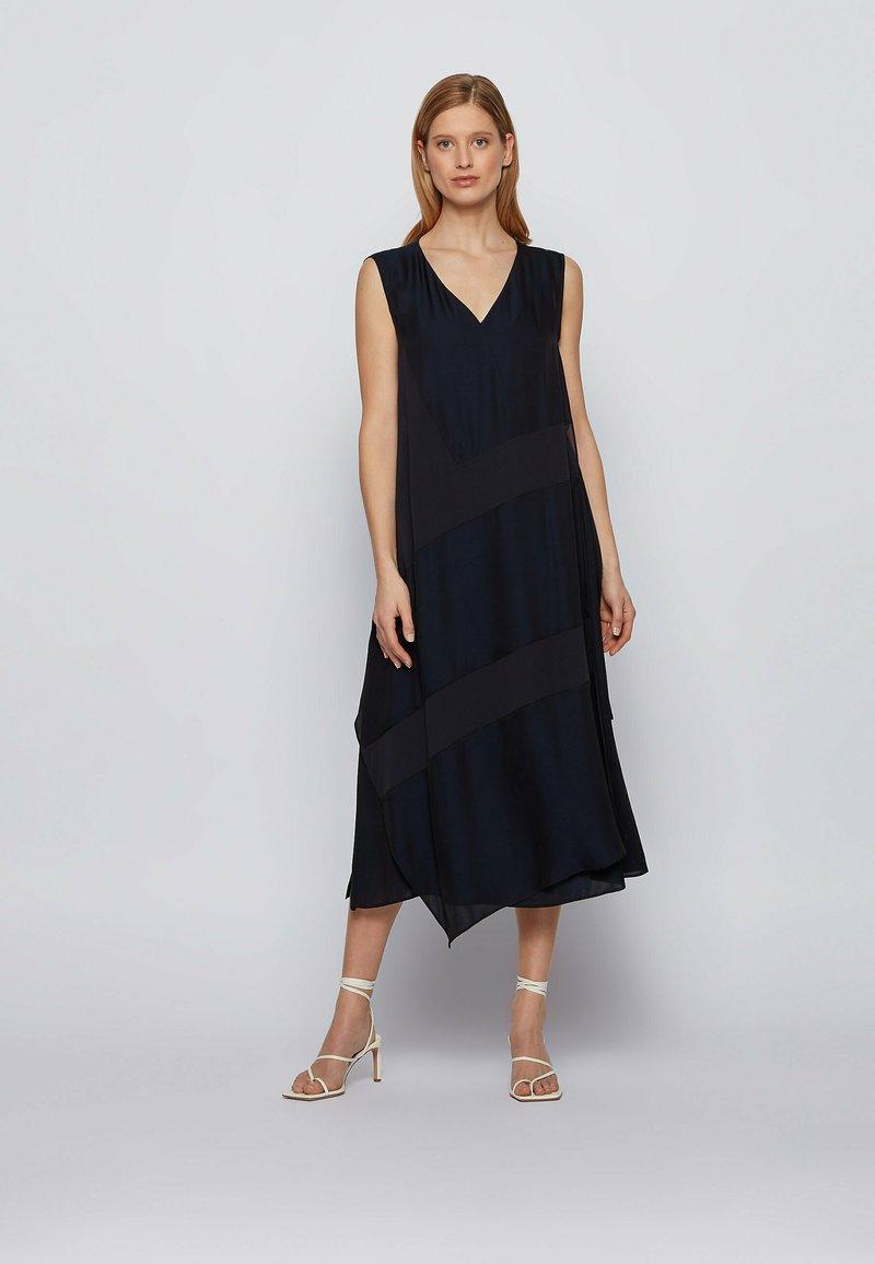 BOSS - Day dress - open blue