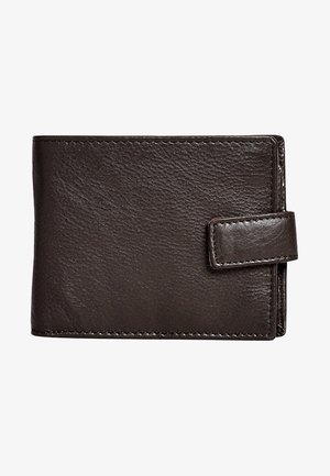SIGNATURE EXTRA CAPACITY POPPER - Wallet - brown