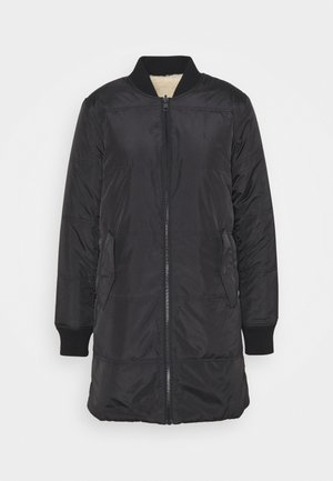 REVERSIBLE QUILTED - Winter jacket - black