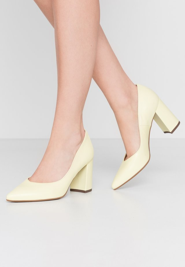 Classic heels - zitrus