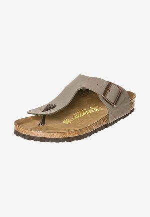 RAMSES - T-bar sandals - grau