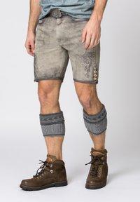 Stockerpoint - ALOIS - Shorts - rauch geäscht - 0
