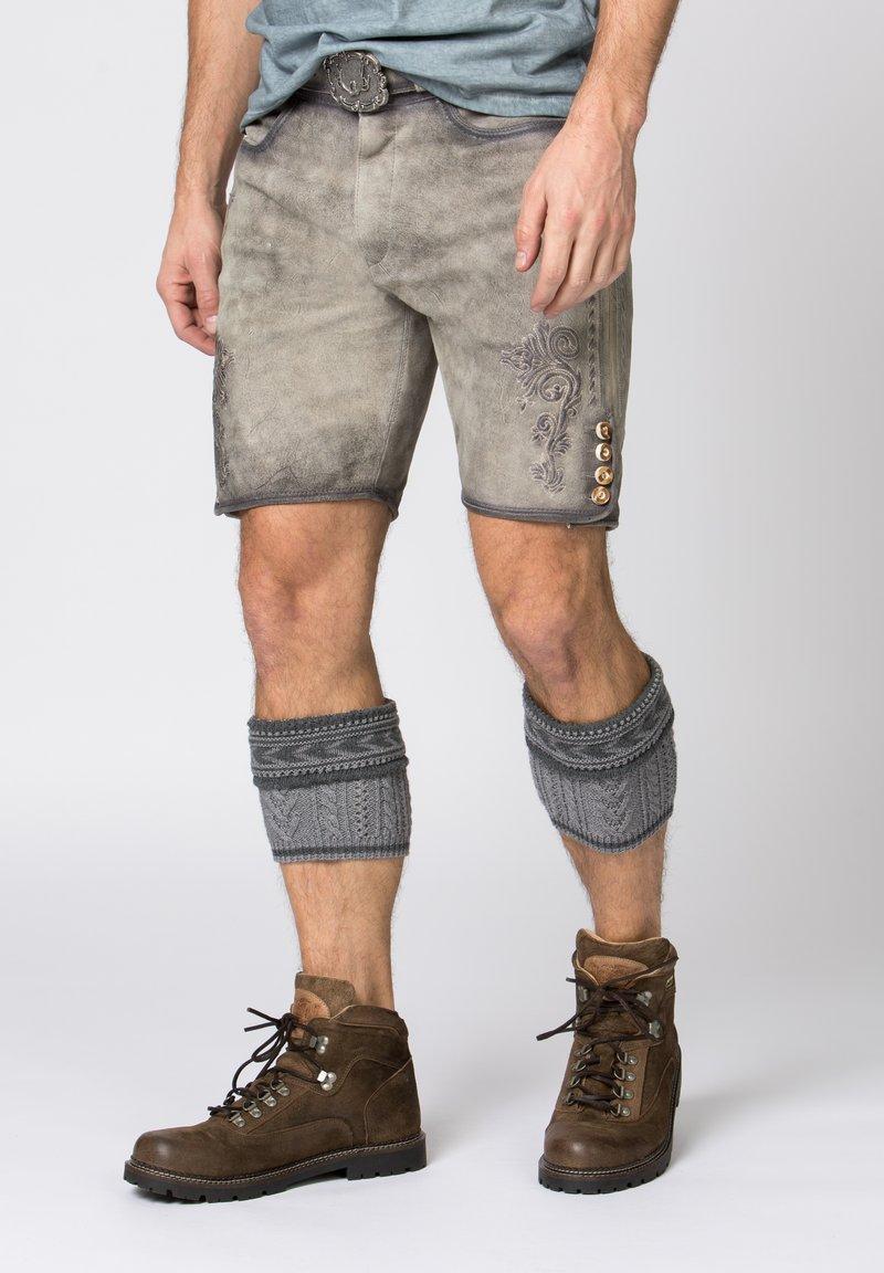 Stockerpoint - ALOIS - Shorts - rauch geäscht