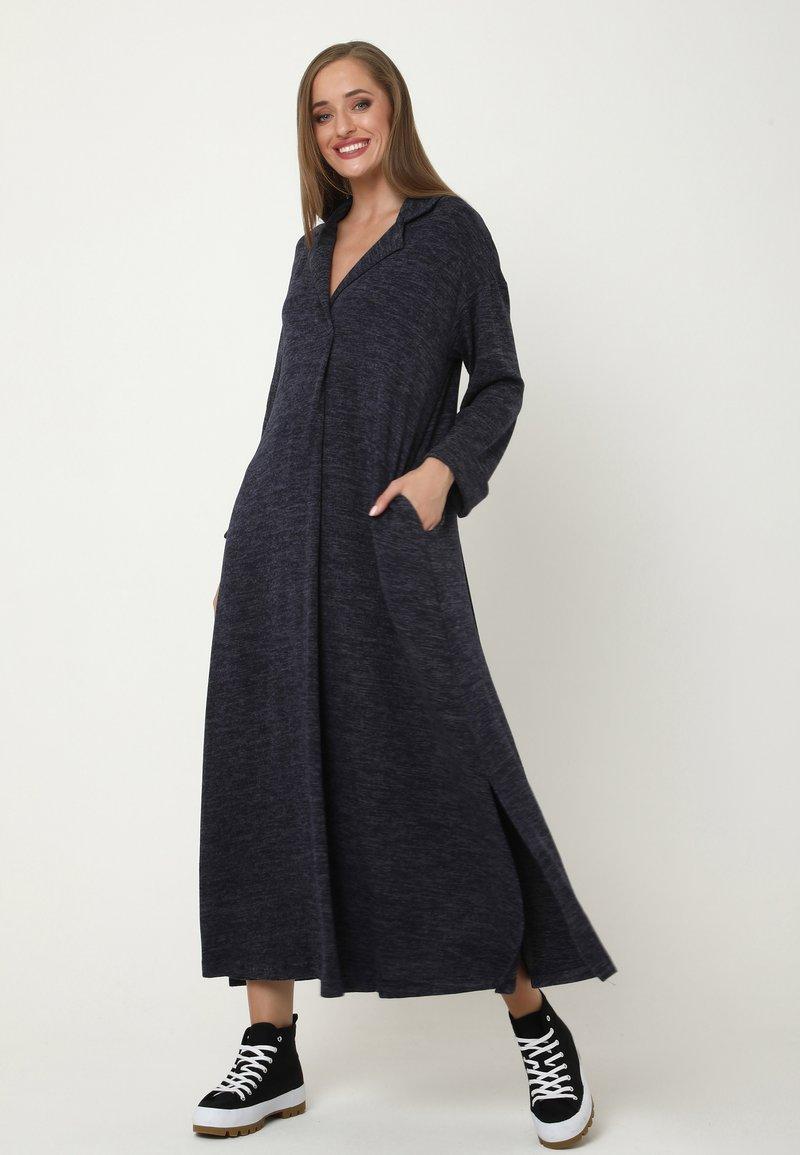Madam-T - CLARICE - Day dress - blau