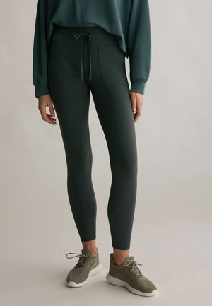 COMFORT - Leggings - evergreen