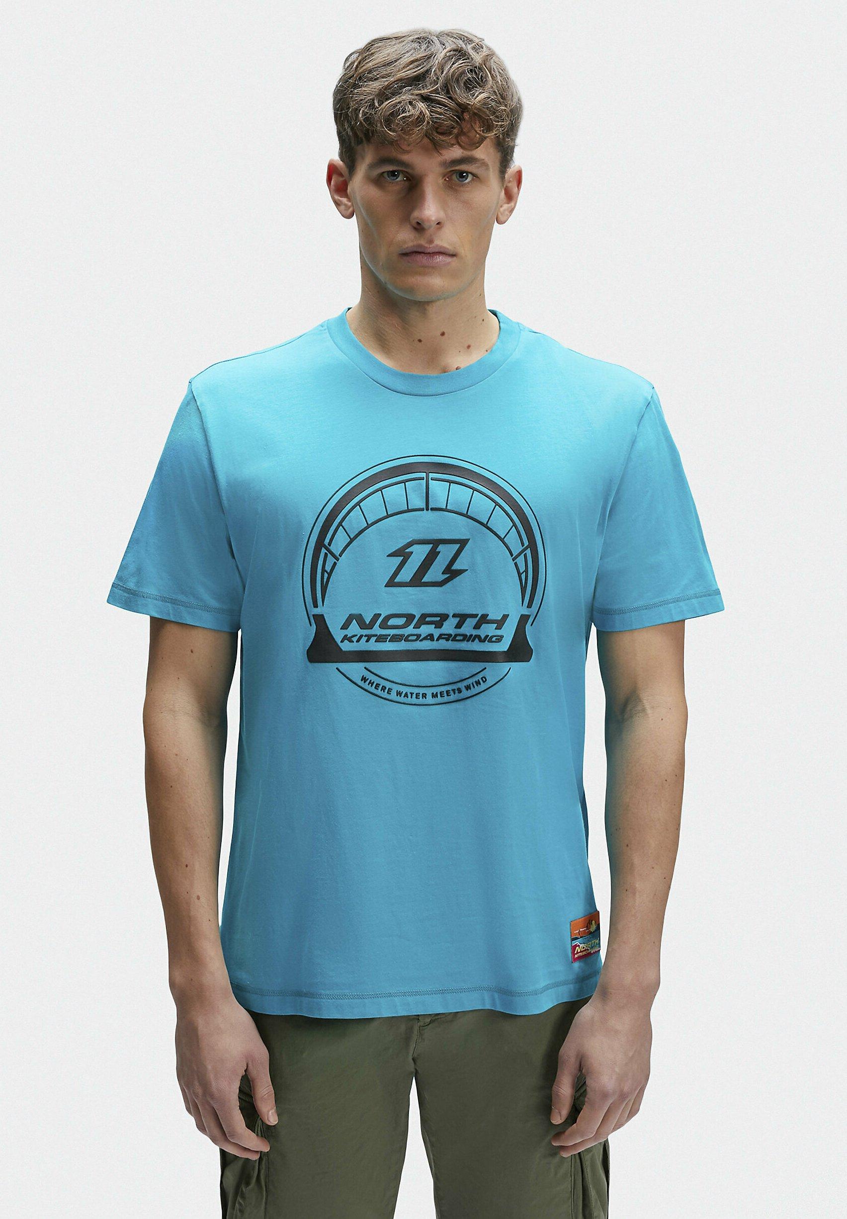 Homme T-shirt imprimé - teal