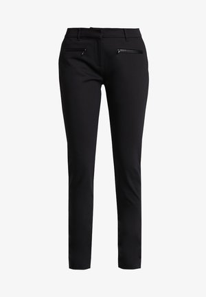 HERITAGE SLIM FIT PANTS - Trousers - masters black