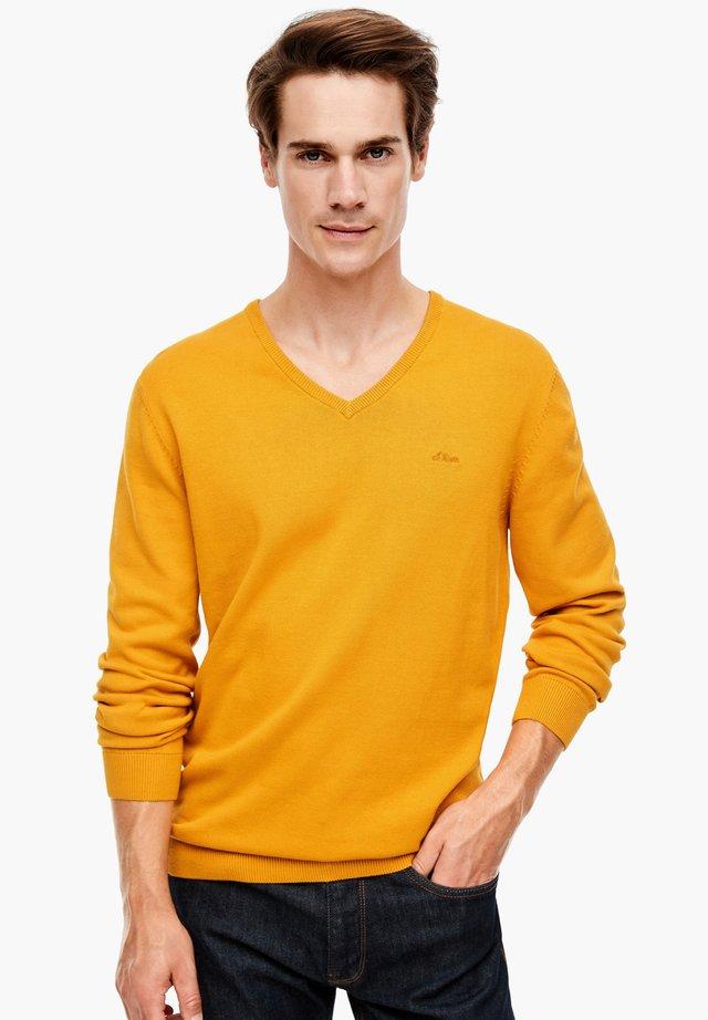 LANGARM - Maglione - yellow