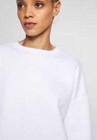 Missguided - BASIC OVERSIZED  - Sweatshirt - white - 6