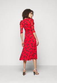 Diane von Furstenberg - ABRA DRESS - Denní šaty - red - 2