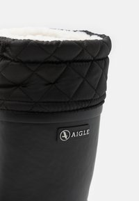 Aigle - WARM UNISEX - Wellies - noir - 5
