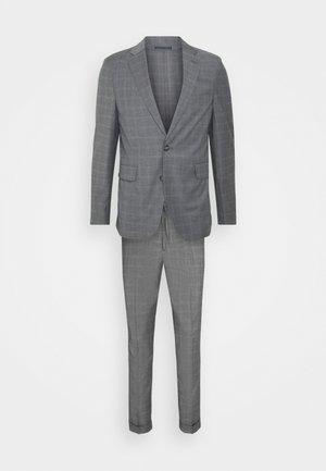 CHECK SUIT - Oblek - light grey