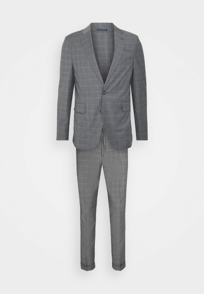 Isaac Dewhirst - CHECK SUIT - Kostym - light grey