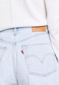 Levi's® - HIGH LOOSE - Denim shorts - supa dupa fly - 4