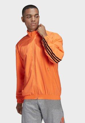 3-STRIPES GEWEVEN  - Træningsjakker - orange