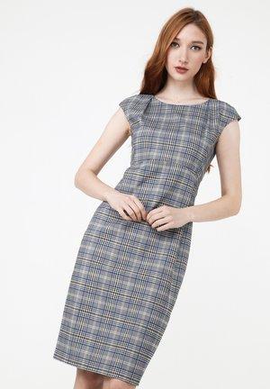 MUTALA - Shift dress - grau indigo