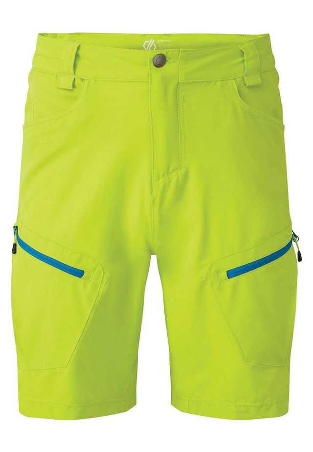 TUNED IN  - Outdoor shorts - lime punch