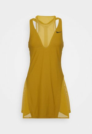 MARIA DRESS - Robe de sport - ochre/black