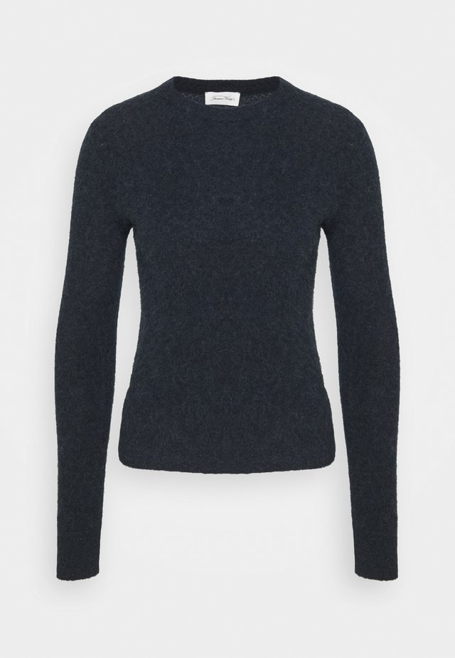 NUASKY - Maglione - navy chine