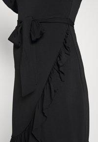Vero Moda - VMPOPPY TIE SHORT DRESS - Shift dress - black - 5