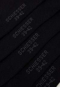 Schiesser - 5 PACK - Strumpor - black - 1