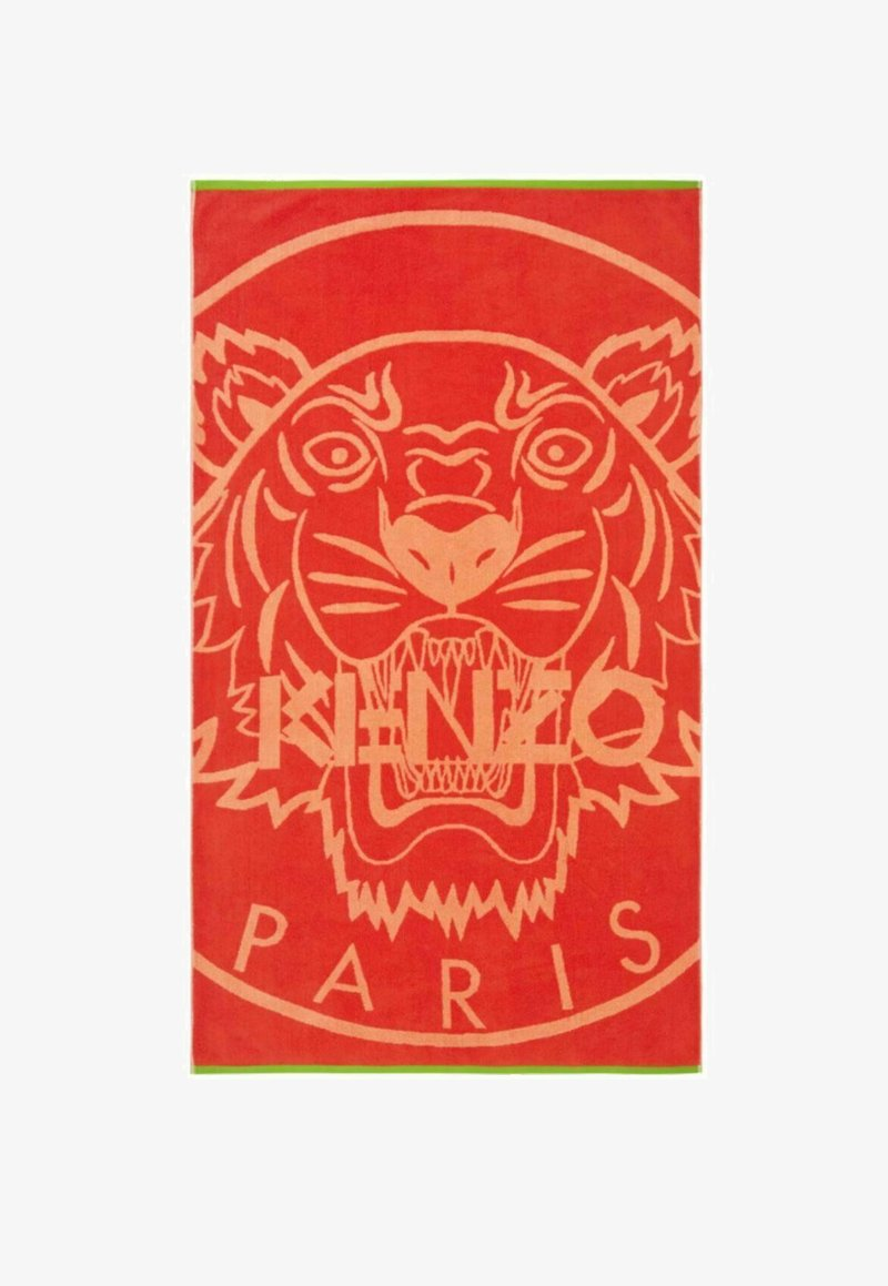 KENZO Homme - NEWTIGER  - Beach towel - red