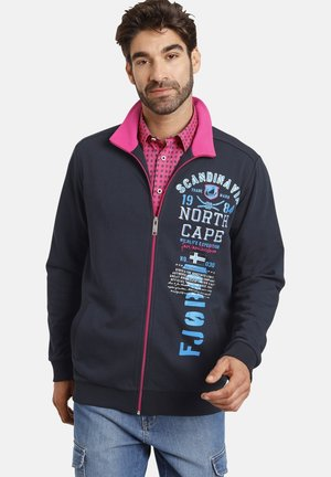ULVI - Zip-up sweatshirt - dunkelblau