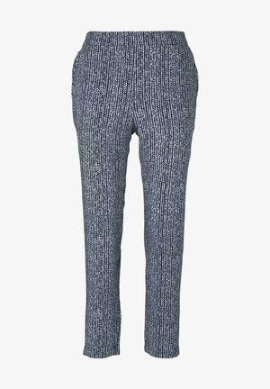 LOOSE FIT - Pantalones - blue minimal design vertical