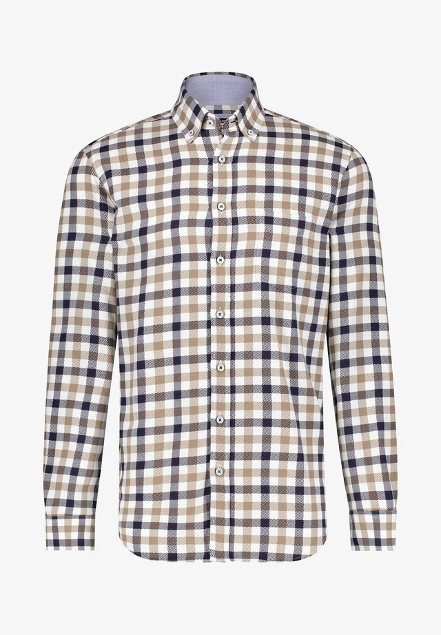 CHECKED - Overhemd - midnight/white grey