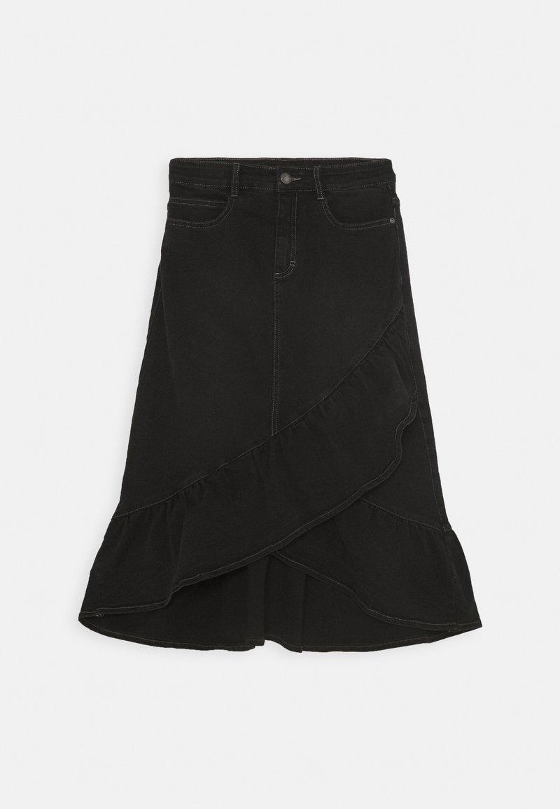Molo - BELINDA - A-line skirt - black denim