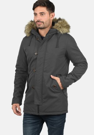 PLATON - Winter coat - dark grey