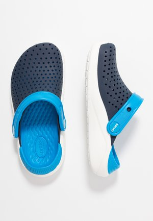 LITERIDE - Pool slides - navy/white