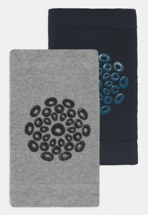 KNEE PADS 2 PACK UNISEX - Autres accessoires - black/grey