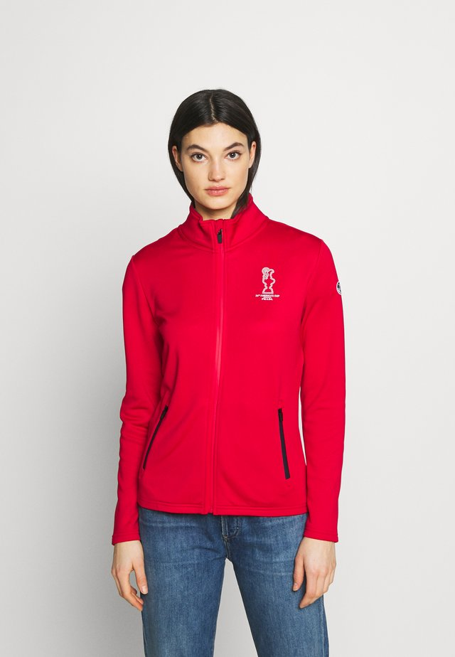 COWES FULL ZIP  - Treningsjakke - red