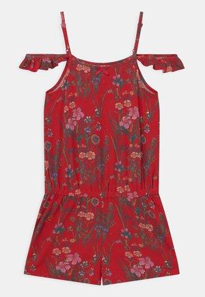 FLORAL - Jumpsuit - red