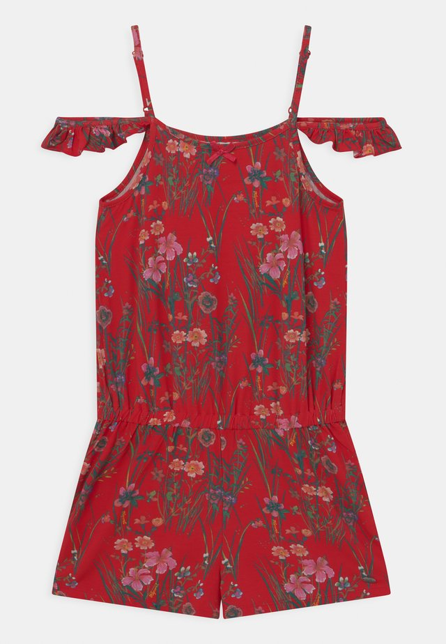 FLORAL - Jumpsuit - red