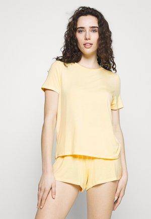 Basic short set - Pyjama - light yellow