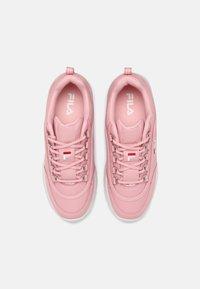 Fila - STRADA LOW KIDS - Baskets basses - pink mist - 3