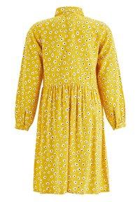 DeFacto - Shirt dress - yellow - 1