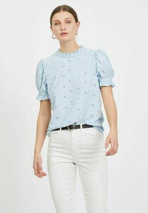 SHORT SLEEVE - Blouse - cashmere blue