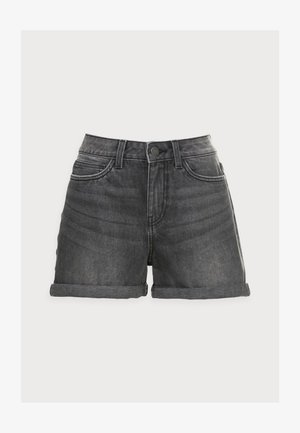 NMSMILEY - Denim shorts - medium grey denim