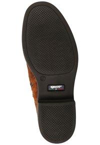 IGI&CO - Platform ankle boots - cognac - 4