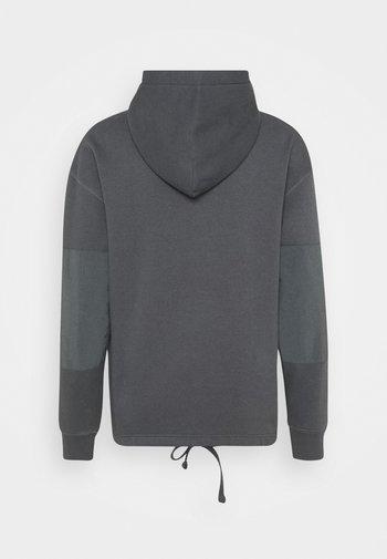 DRAWCORD HEM HOODIE - Sweatshirt - greys