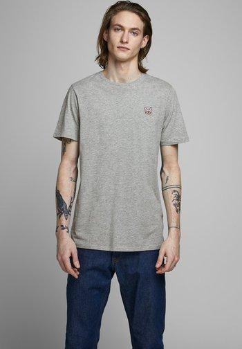Camiseta básica - light grey melange